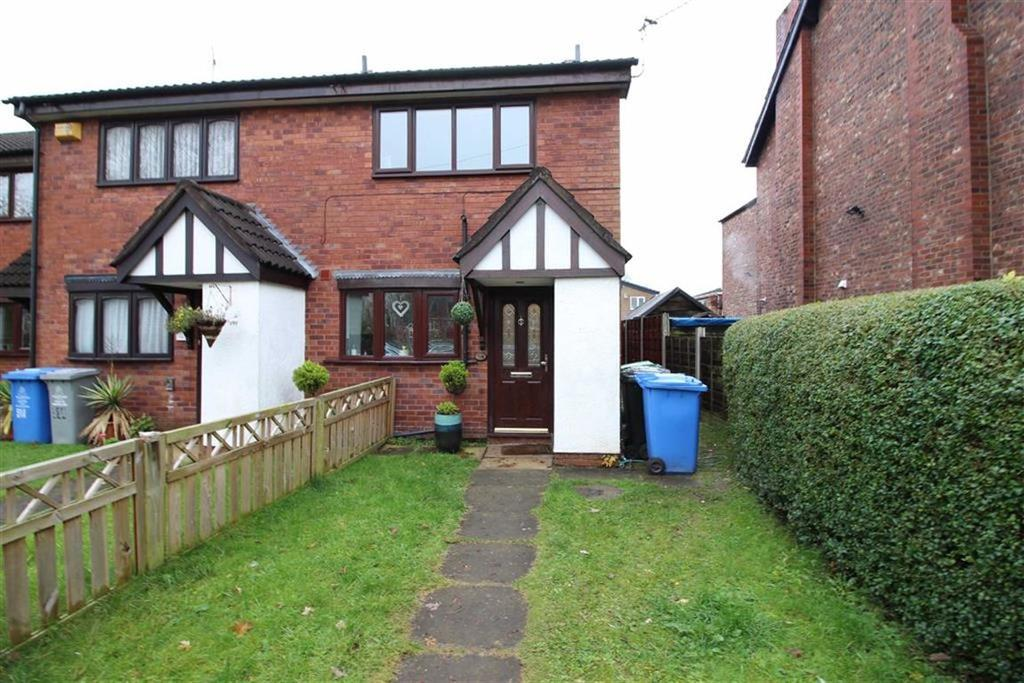 2 Bedrooms End Of Terrace House for sale in Glebelands Road, Sale