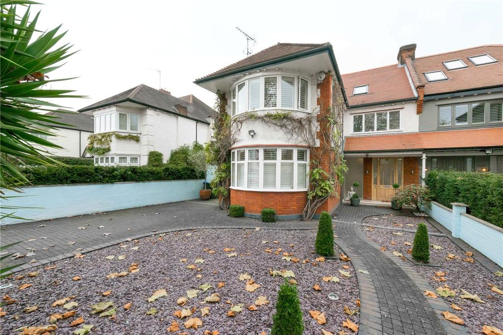 5 Bedrooms Semi Detached House for sale in Aylestone Avenue, London, NW6