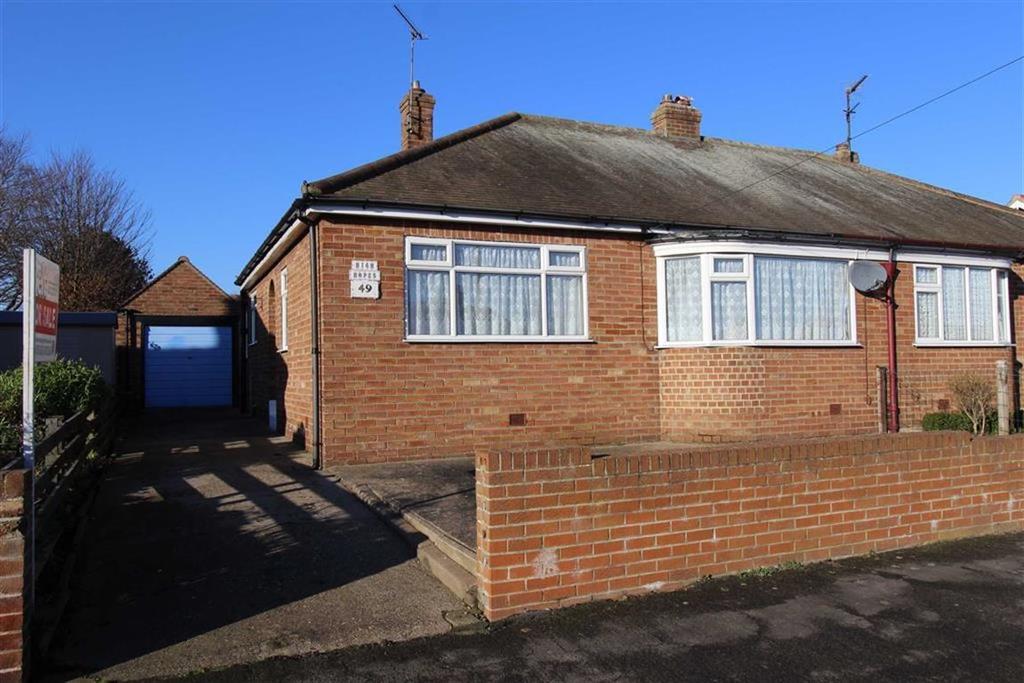 2 Bedrooms Semi Detached Bungalow for sale in St Aidan Road, Bridlington, East Yorkshire, YO16