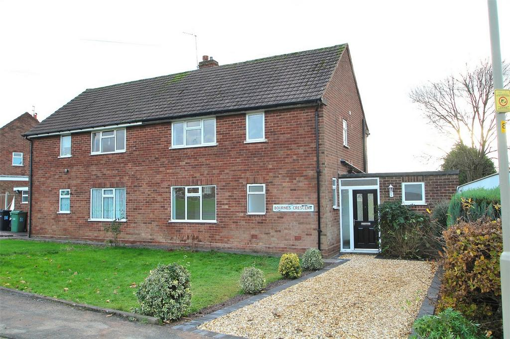 3 Bedrooms Semi Detached House for sale in Bournes Crescent, HALESOWEN, West Midlands