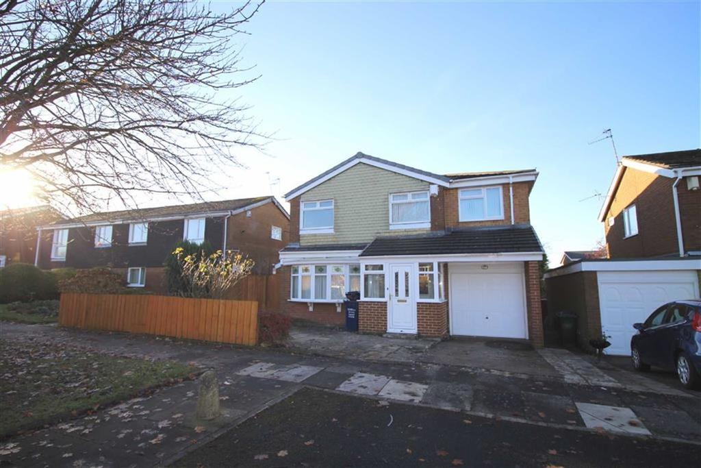 4 Bedrooms Detached House for sale in Cranbrook Court, Newastle Upon Tyne, NE3