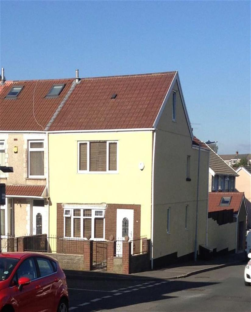 4 Bedrooms End Of Terrace House for sale in Zouch Street, Manselton, Swansea