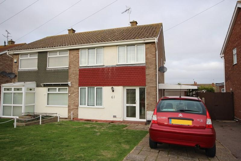 3 Bedrooms Semi Detached House for sale in Aylesbury Drive, Holland on Sea