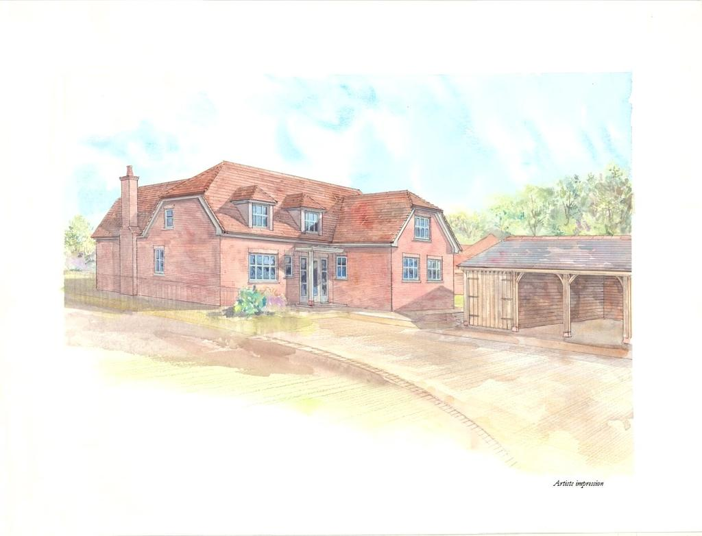 4 Bedrooms Detached House for sale in Lees Hill, South Warnborough, Hampshire, RG29