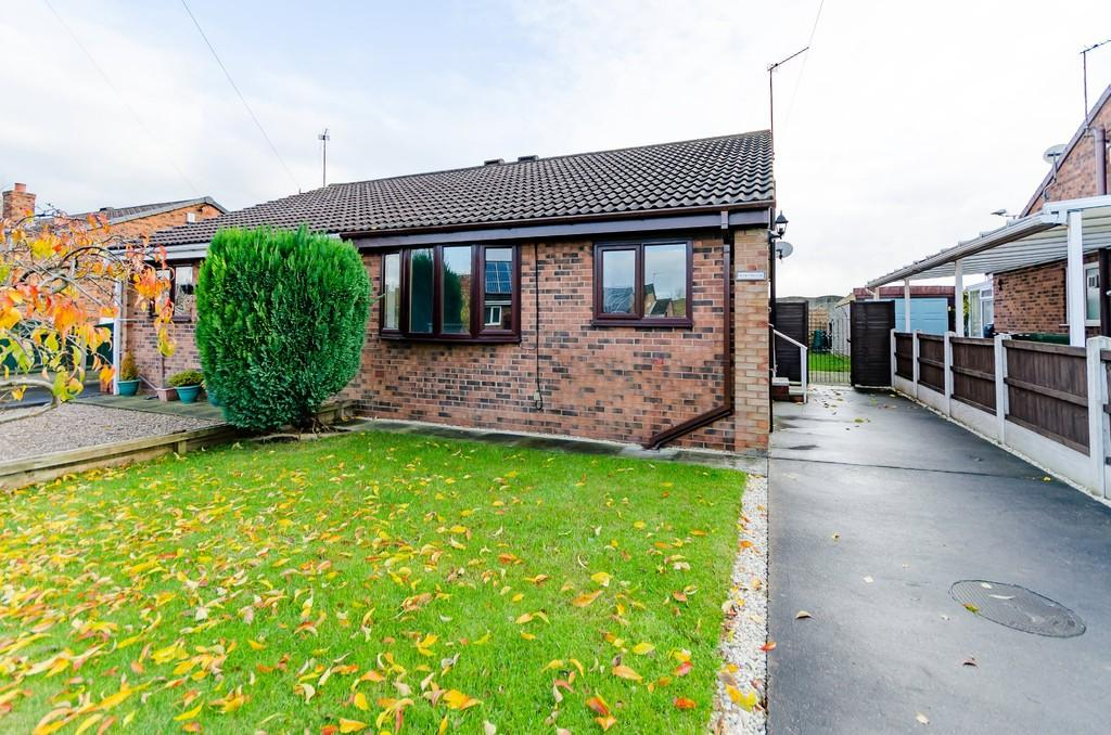 2 Bedrooms Semi Detached Bungalow for sale in Redland Crescent, Kinsley