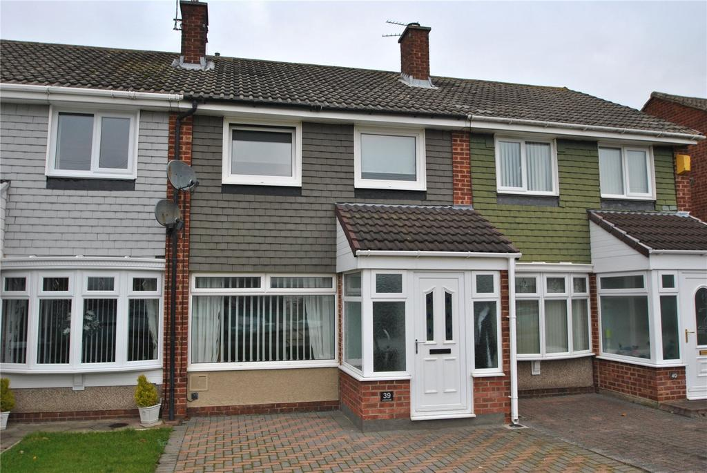 3 Bedrooms Terraced House for sale in Leeholme, Houghton le Spring, Tyne and Wear, DH5
