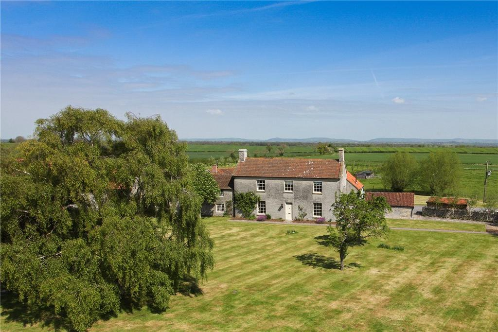 5 Bedrooms Detached House for sale in Kent Lane, Shapwick, Bridgwater, Somerset, TA7