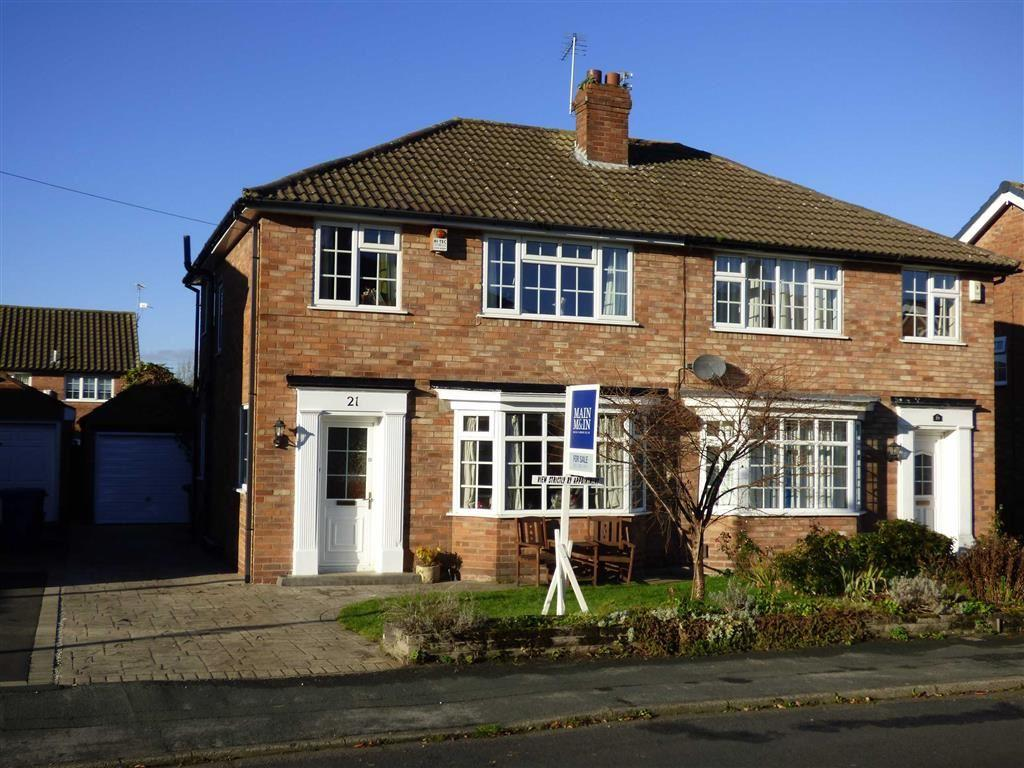 3 Bedrooms Semi Detached House for sale in Musbury Avenue, Cheadle Hulme, Cheshire