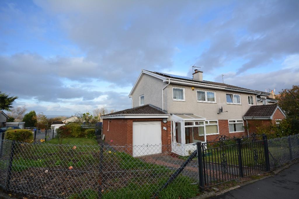 3 Bedrooms Semi Detached House for sale in Thomson Place, Cambusbarron, Stirling, FK7 9PE