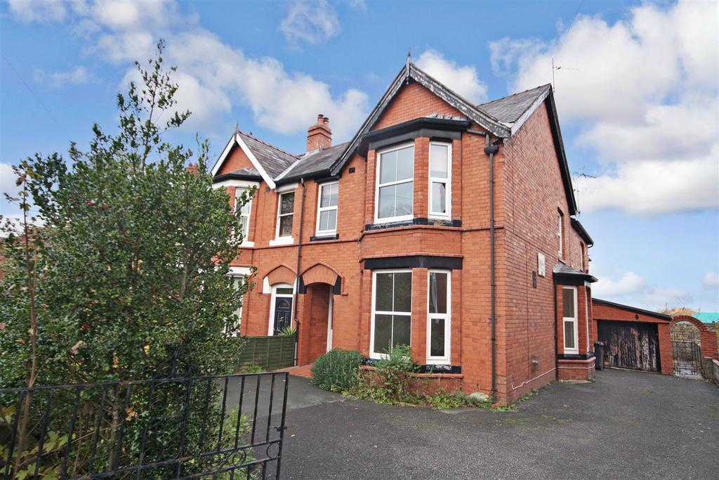 4 Bedrooms Semi Detached House for sale in Oakhurst Road, Oswestry