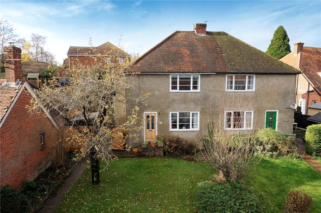3 Bedrooms Semi Detached House for sale in Winchester Street, Overton, Basingstoke, Hampshire, RG25