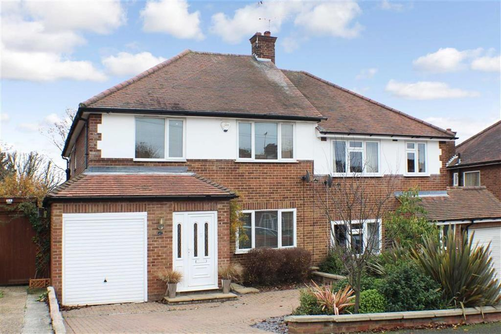 4 Bedrooms Semi Detached House for sale in Pondfield Crescent, St Albans, Herts