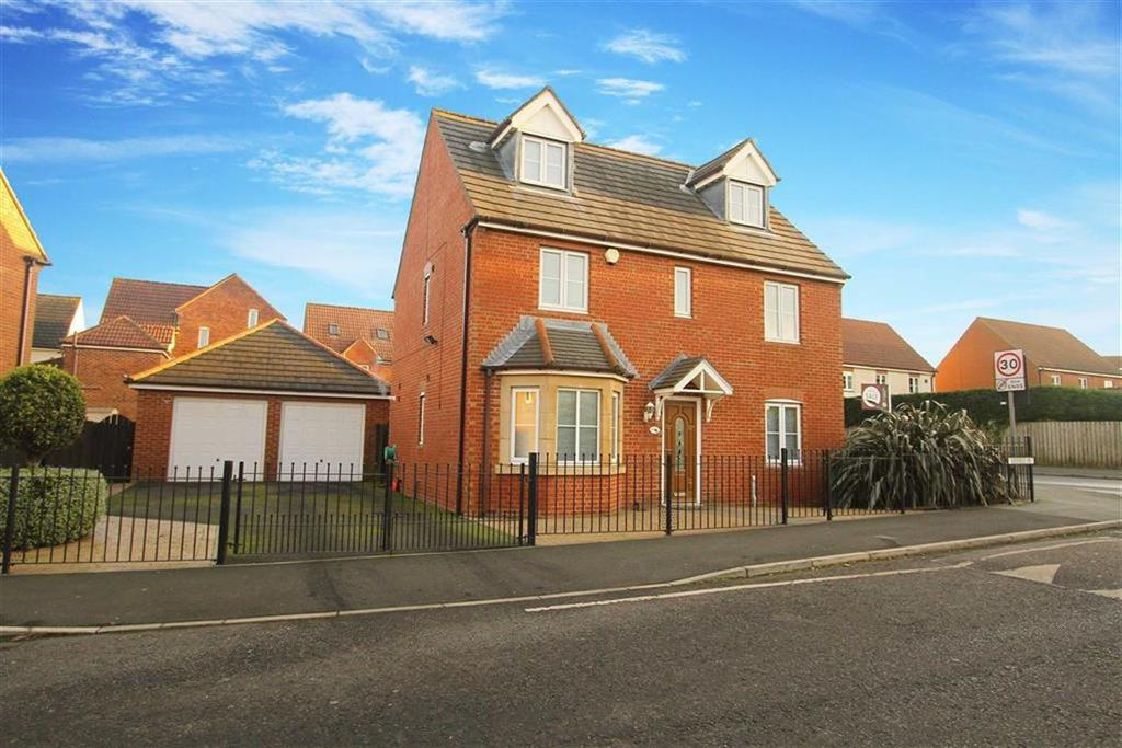 5 Bedrooms Detached House for sale in Edgefield, Northumberland Park, Tyne And Wear