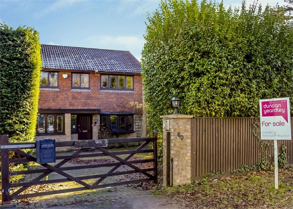 4 Bedrooms Detached House for sale in Fernbank Road, North Ascot, Berkshire