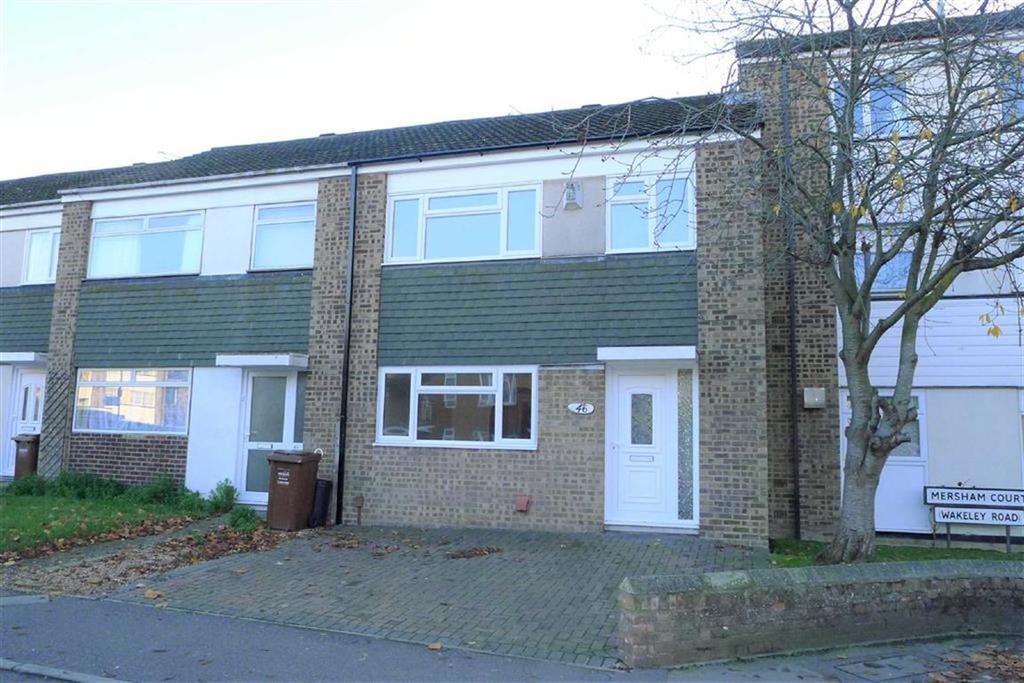 3 Bedrooms Terraced House for sale in Wakeley Road, Rainham, Kent, ME8