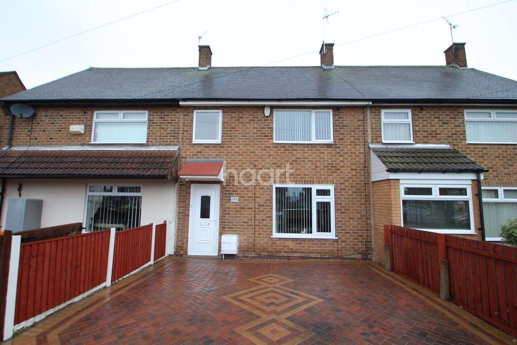 3 Bedrooms Terraced House for sale in Beckhampton Road, Bestwood Park, Nottingham