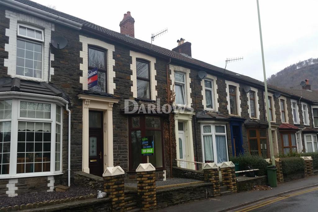 3 Bedrooms Terraced House for sale in Berw Road, Pontypridd