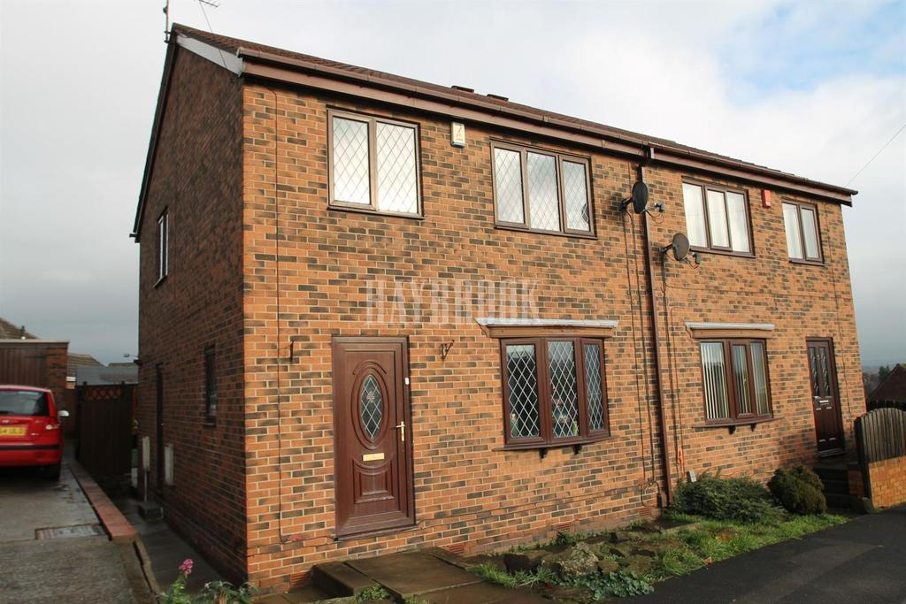 3 Bedrooms Semi Detached House for sale in Bradgate House Close, Kimberworth