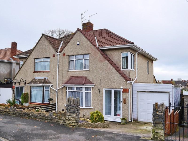 3 Bedrooms Semi Detached House for sale in Lockingwell Road, Keynsham, Bristol