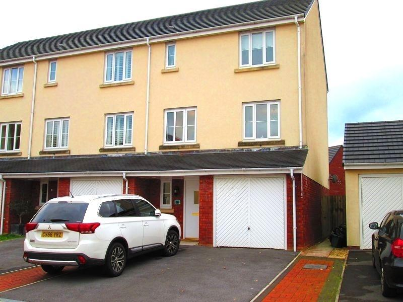 3 Bedrooms End Of Terrace House for sale in Moorland Green, Gorseinon, Swansea, City County of Swansea.