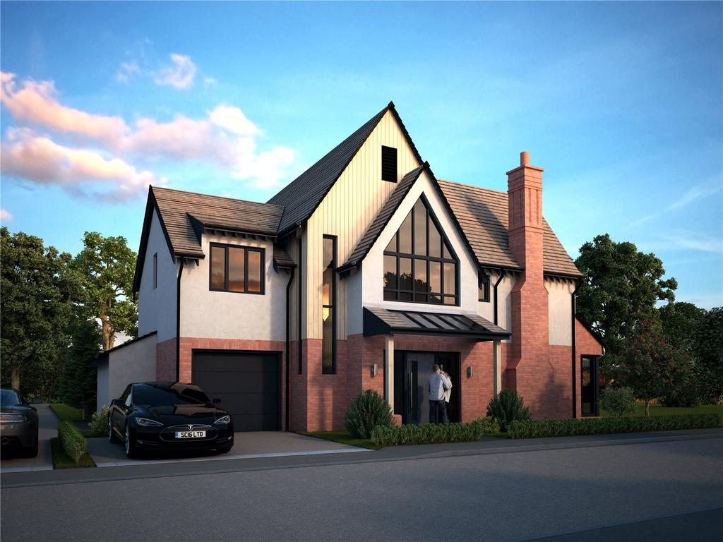 4 Bedrooms Detached House for sale in Becket House - The Cedars, Pytches Road, Woodbridge, Suffolk, IP12