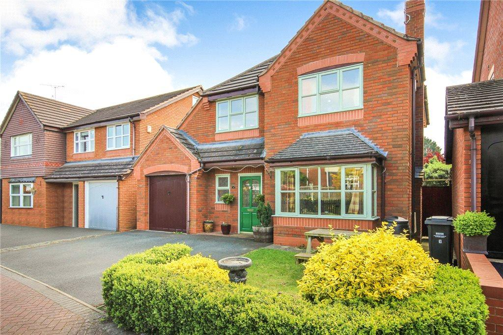 4 Bedrooms Detached House for sale in Phipps Close, Wyre Piddle, Pershore, Worcestershire, WR10