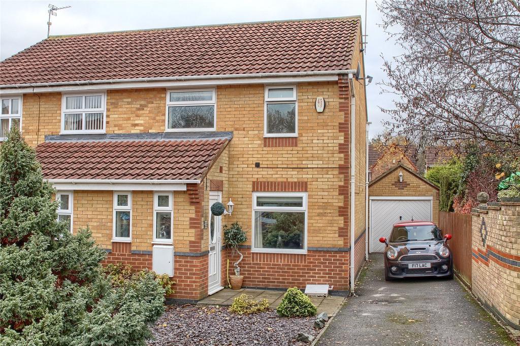 2 Bedrooms Semi Detached House for sale in Spaunton Close, Hemlington