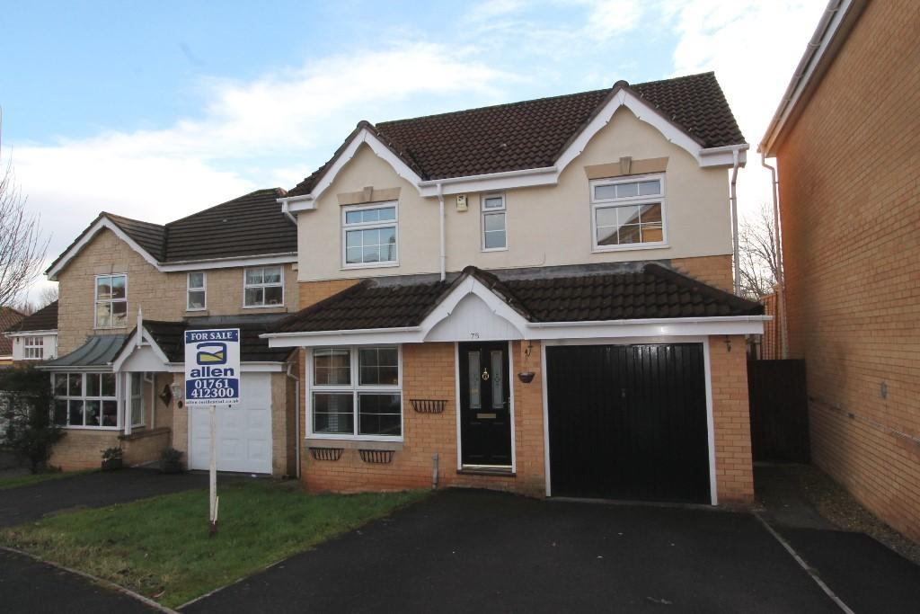 4 Bedrooms Detached House for sale in Spencer Drive, Midsomer Norton
