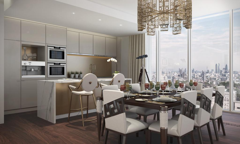 3 Bedrooms Apartment Flat for sale in Nine Elms, London, SW8
