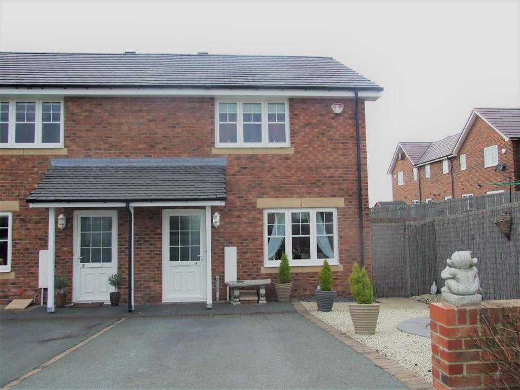 2 Bedrooms Semi Detached House for sale in 14 Beckwith Close