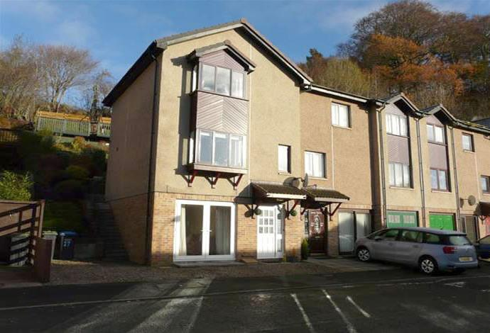 3 Bedrooms Terraced House for sale in 27 Glenfield Road East, Galashiels, TD1 2UE