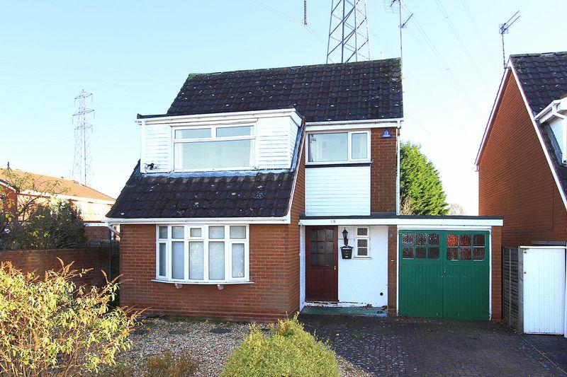 4 Bedrooms Detached House for sale in WOMBOURNE, Brindley Close