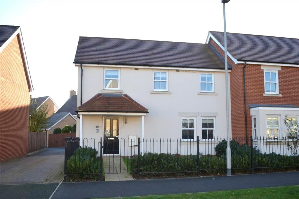3 Bedrooms Semi Detached House for sale in Venus Avenue, Biggleswade, SG18