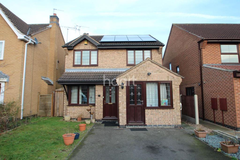 3 Bedrooms Detached House for sale in Dorset Gardens, West Bridgford, Nottinghamshire
