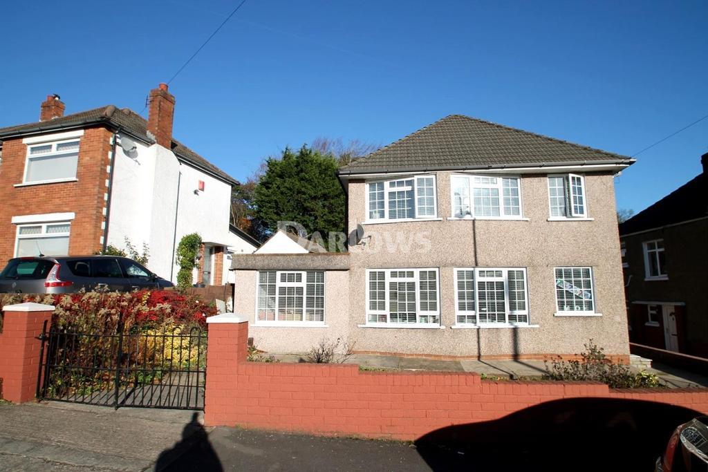 3 Bedrooms Detached House for sale in Elgar Crescent, Llanrumney, Cardiff