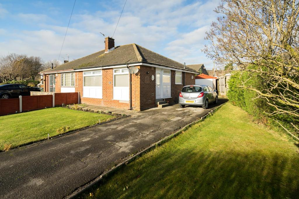 2 Bedrooms Semi Detached Bungalow for sale in Lowfield Close, Low Moor, Bradford, BD12 0JX