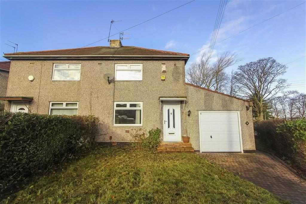 2 Bedrooms Semi Detached House for sale in Tyne Gardens, Ryton, Newcastle Upon Tyne
