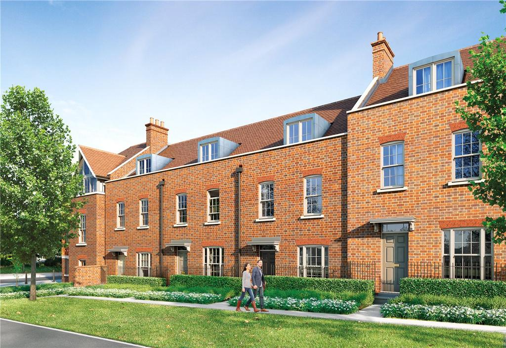 4 Bedrooms Town House for sale in St Thomas's Place, Old Ruttington Lane, Canterbury, CT1