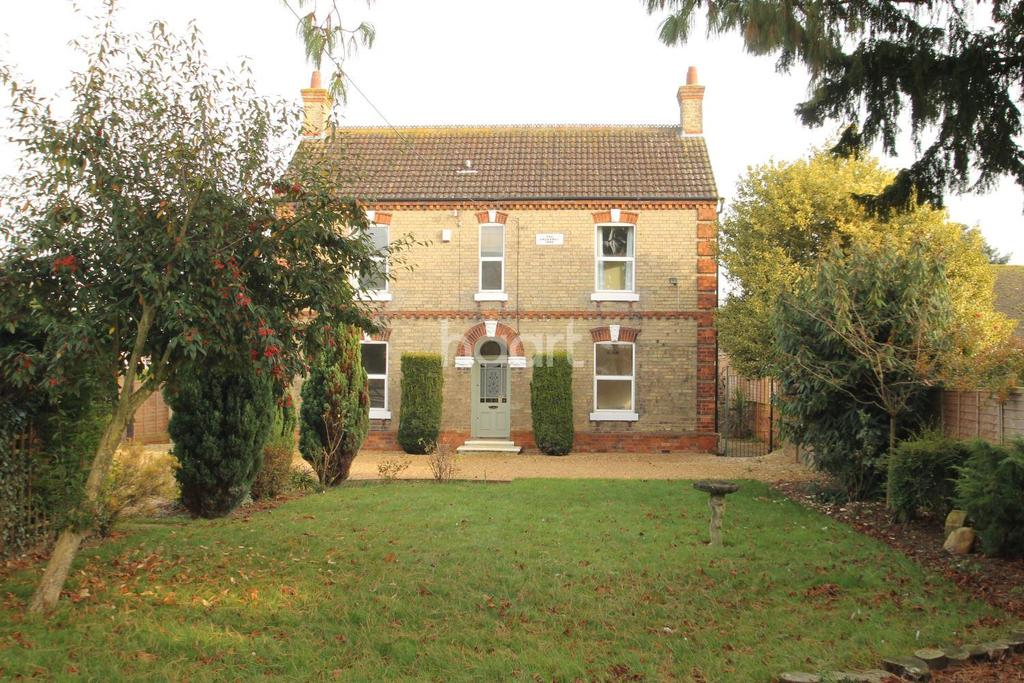 4 Bedrooms Detached House for sale in Priory Road, Ruskington, NG34 9DJ