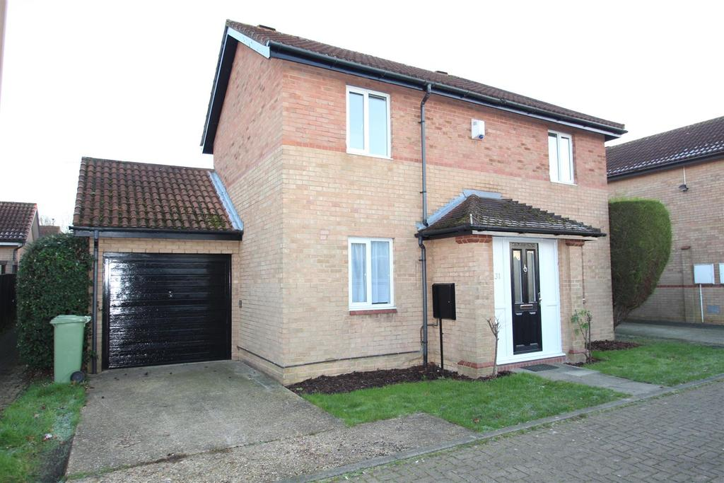 3 Bedrooms Detached House for sale in Emerson Valley, Milton Keynes