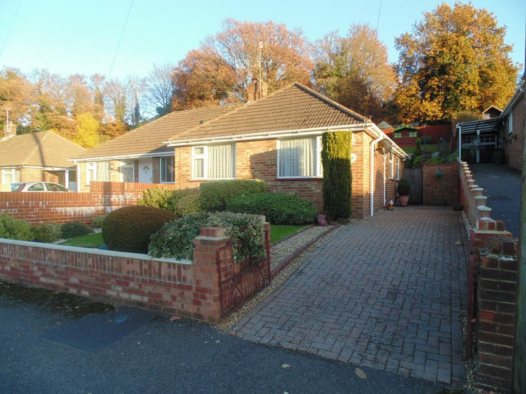 2 Bedrooms Semi Detached Bungalow for sale in Dale Valley Close, Southampton