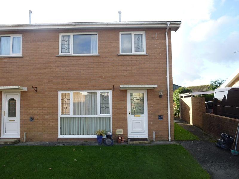 3 Bedrooms End Of Terrace House for sale in Lon Rhys Pritchard , Llandovery, Carmarthenshire.