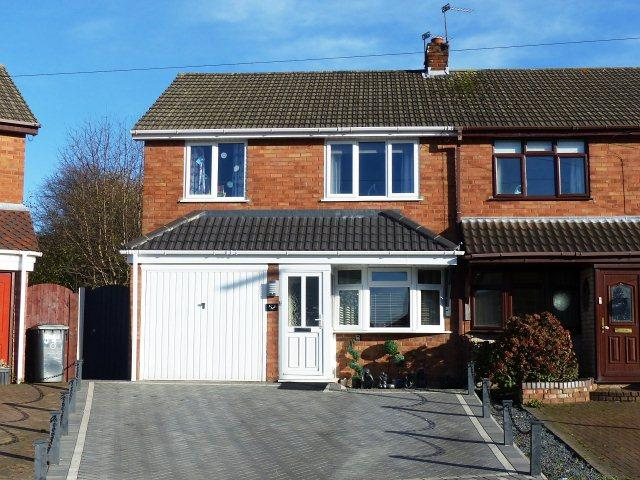 3 Bedrooms Semi Detached House for sale in Bridge Avenue,Cheslyn Hay,Staffordshire
