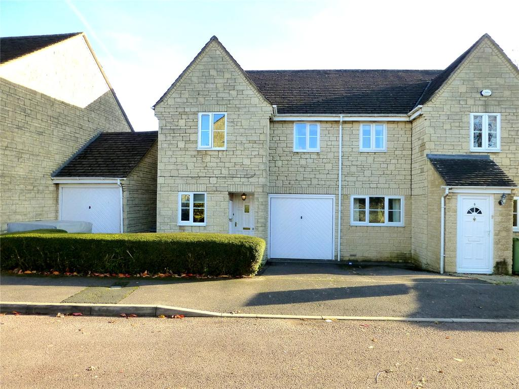 3 Bedrooms Semi Detached House for sale in Northlands Way, Tetbury, GL8