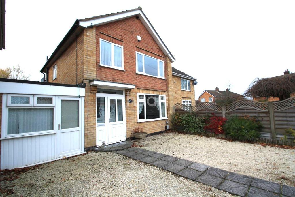 3 Bedrooms Semi Detached House for sale in Saville Road, Blaby