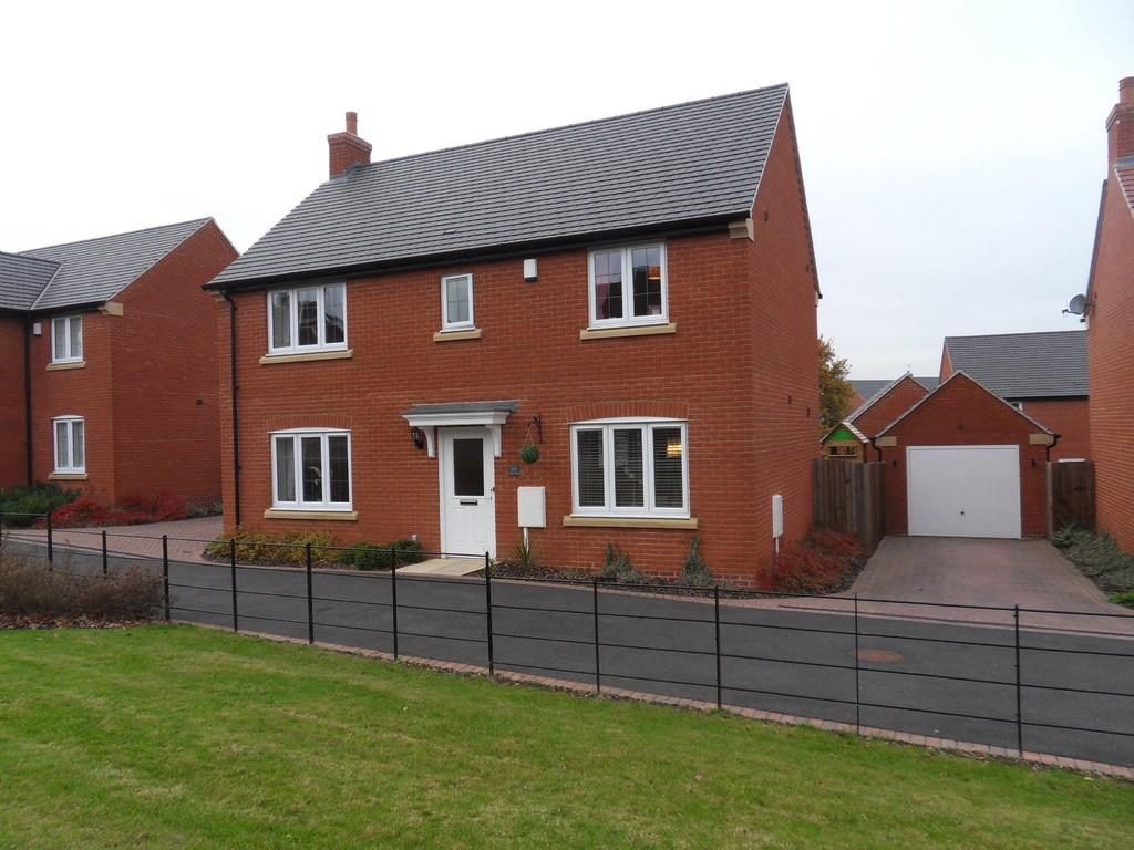 4 Bedrooms Detached House for sale in Anson Road, Shepshed