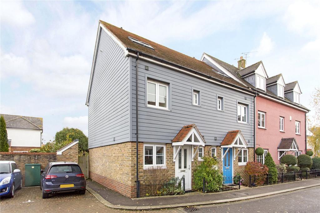 3 Bedrooms End Of Terrace House for sale in Park Side, Epping, Essex, CM16