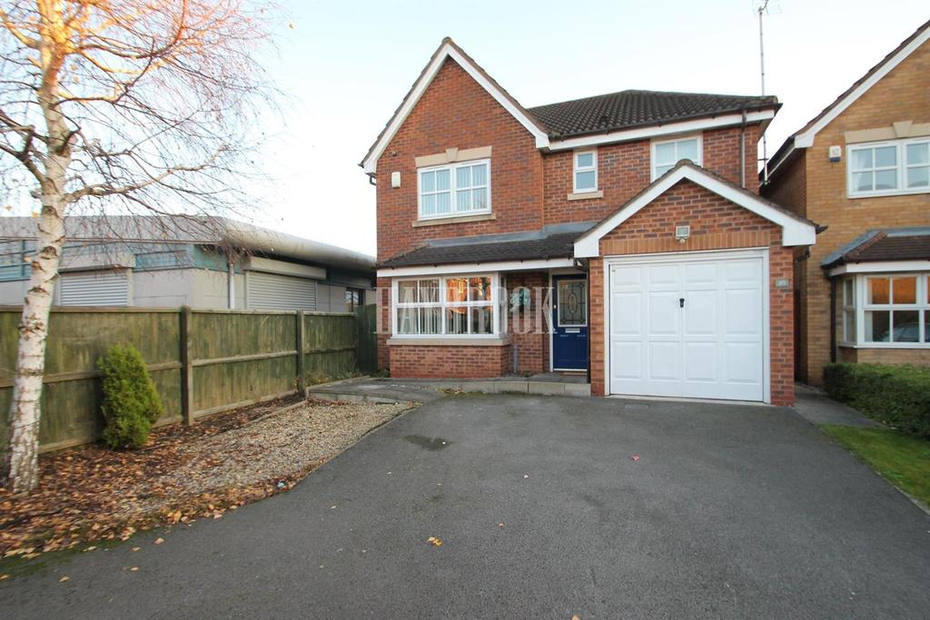 4 Bedrooms Detached House for sale in Spinkhill View, Renishaw