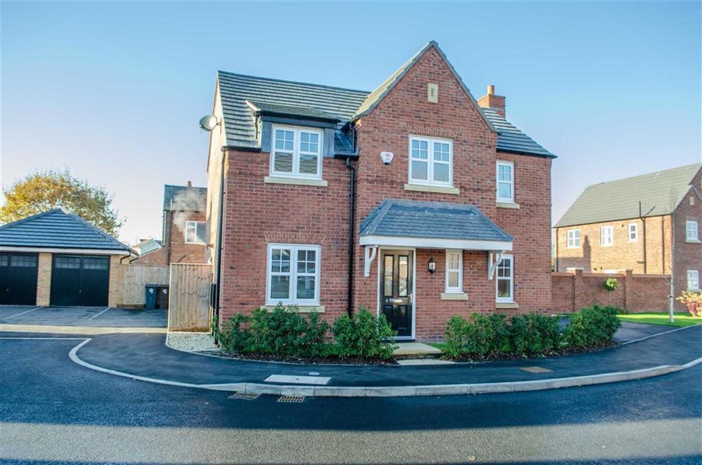 4 Bedrooms Detached House for sale in Maes Hewitt, Ewloe, Flintshire, Deeside, Flintshire