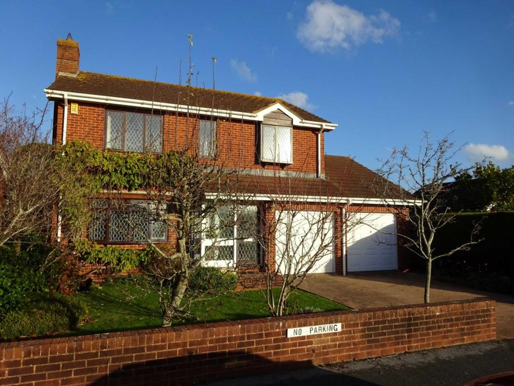 4 Bedrooms Detached House for sale in Delderfield Gardens, Exmouth